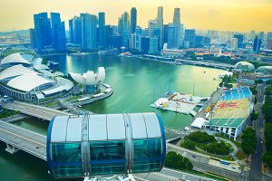 Skyline Singapore, Singapore Flyer