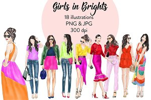 Girls in Brights