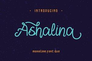 Ashalina Font Duo