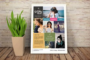Photography Flyer Template V01