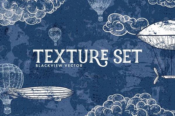Textures: Pixelbuddha - Blackview Vector Texture Set