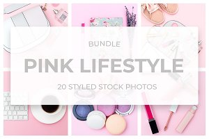 Pink Lifestyle. Bundle