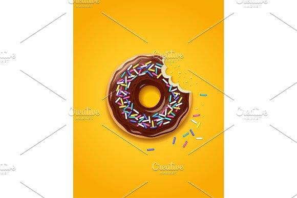Donuts American Sweet Dessert