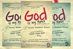 God Is My First