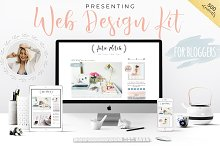 Web Design Kit for Bloggers by Jane Switzer in Web Elements