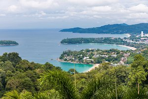 Kata Karon beach viewpoint Phuket