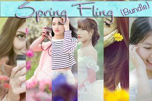 Spring Fling - Overlay+PSAction