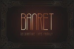 Banret. Font Family