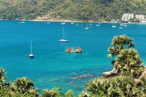 Nai Harn bay beach beach Phuket island
