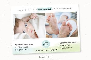 Baby photography template