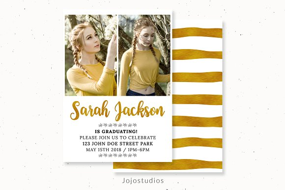 Photoshop Invitation Template