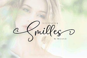 Smilles Script Font