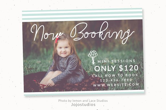 Baby Family Session Template