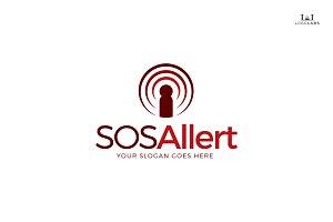 SOS Alert Logo