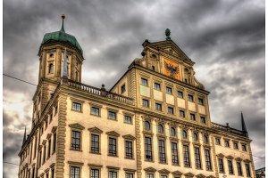 City hall of Augsburg - Germany, Bavaria