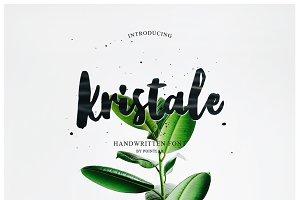 NEW FONT | Kristale Script