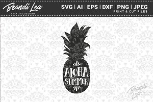 Aloha Summer Cut Files