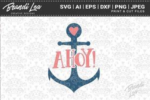 Ahoy Cut Files