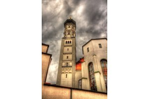 Holy Cross Church in Augsburg, Germany