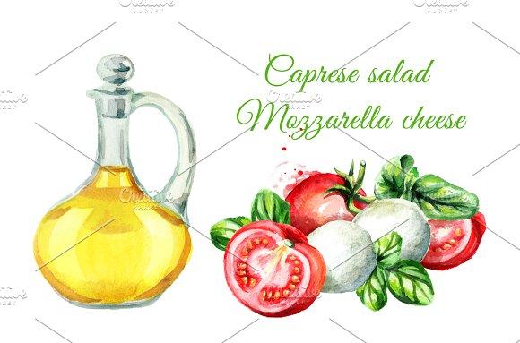 Caprese Salad Mozzarella Cheese