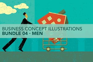 Business Concepts Bundle 04 Men