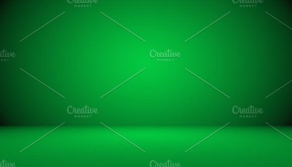 Empty Green Studio Well Use As Background Website Template Frame Business Report