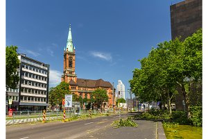Dusseldorf after deadly storm on 10th June, 2014