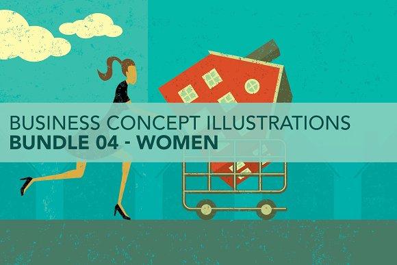 Business Concepts Bundle 04 Women
