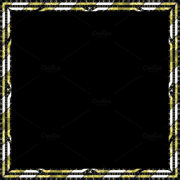 Luxury Framed Black Background