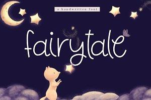 Fairytale - Cute Handwritten Font