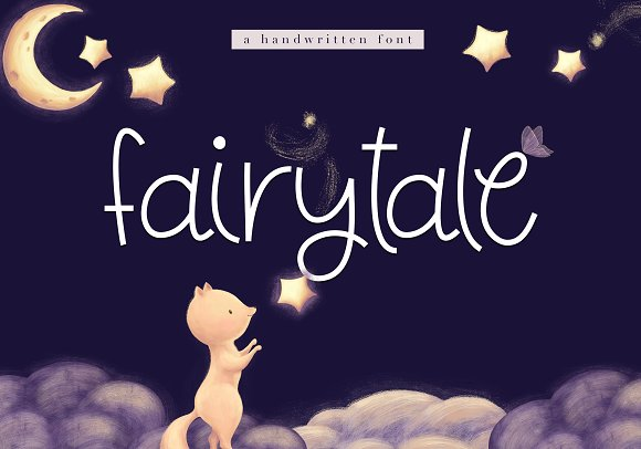 Fairytale Cute Handwritten Font