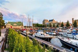 Veerhaven port in Rotterdam - the Netherlands