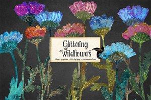 Glittering Wildflowers
