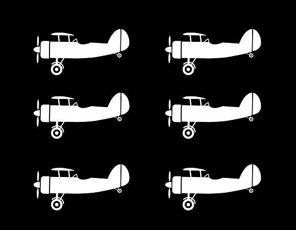 Old Aircraft Art