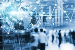 Stock market concept design