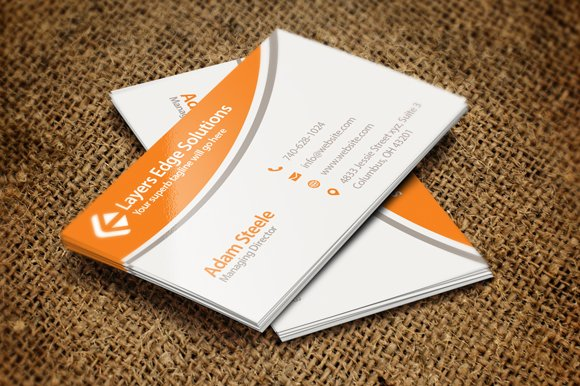 Simple business cards in 2 colors business card templates previous colourmoves