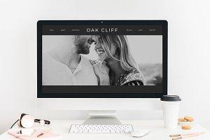 Oak Cliff Showit Website Template
