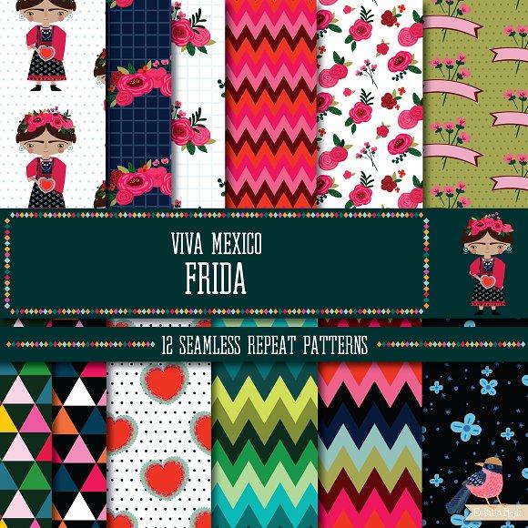 Viva Mexico Frida