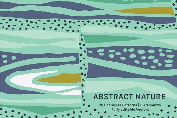 Abstract Nature Designs Patterns