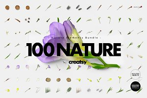 100 Elements Nature Bundle