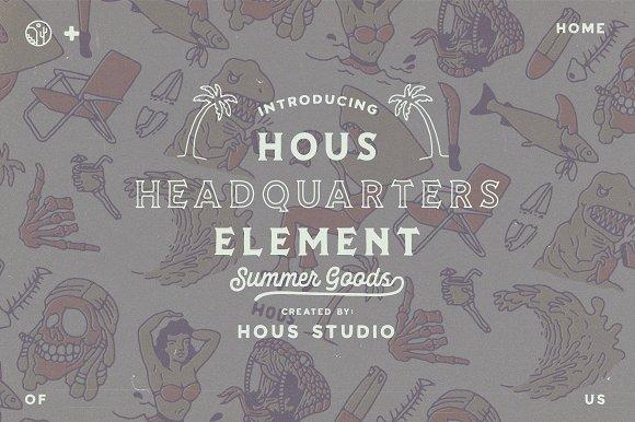 Hous Headquarters Element Vol 02