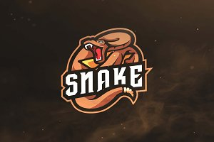 Snake Sport and Esports Logo