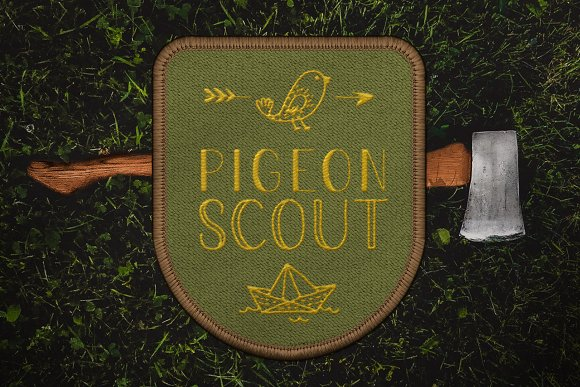 Pigeon Scout Font Collection