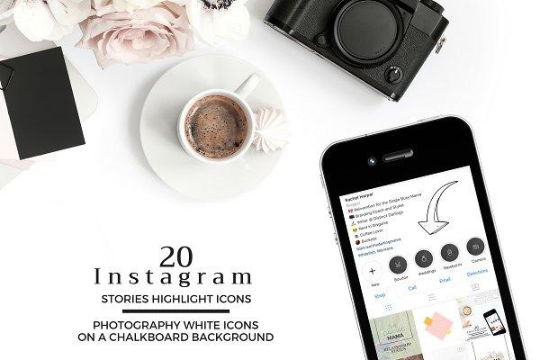PHOTOGRAPHY Theme Instagram Icons