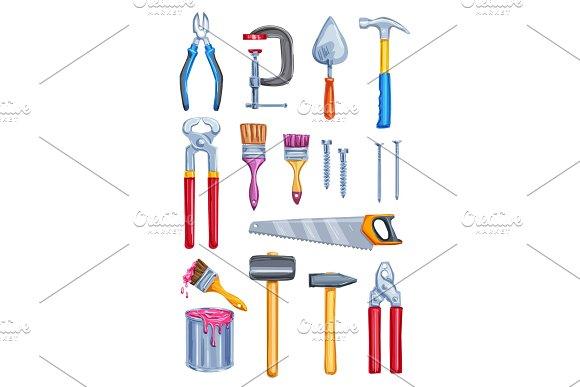 Watercolor Work Tool Home Repair Instrument