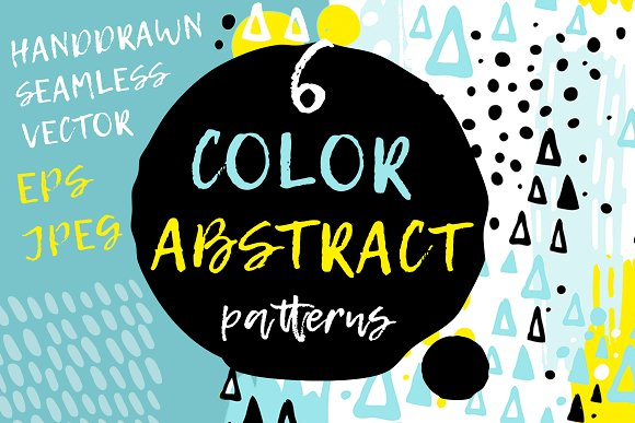6 Abstract Seamless Patterns in Patterns