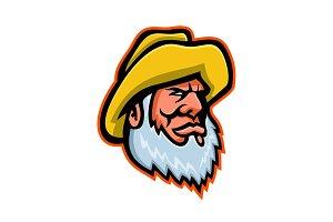 Old Fisherman or Fisher Mascot