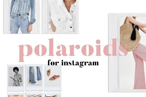 Polaroids for Instagram Pack