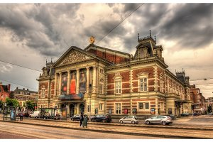 Royal Concertgebouw, a concert hall in Amsterdam