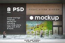 Poster & Logo Mock-up Vol.5 - Shop